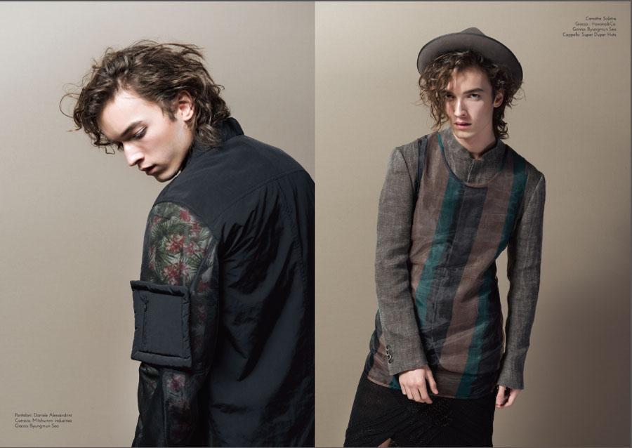 SWITCHMAGAZINE MKB mirko burin fashion stylist gonna uomo fashion man