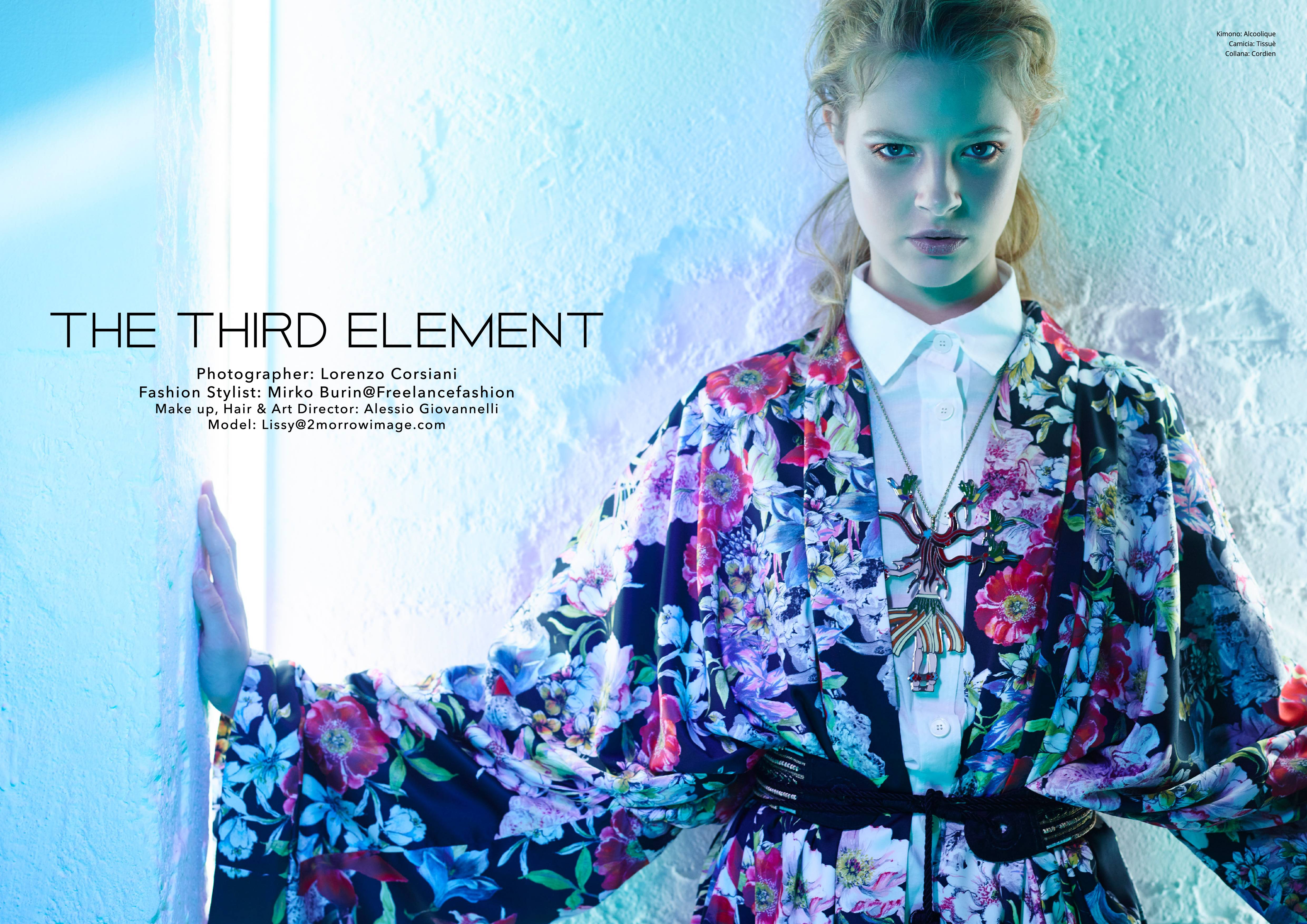 Switch Magazine The Thord Element by Mirko Burin Fashion Stylist