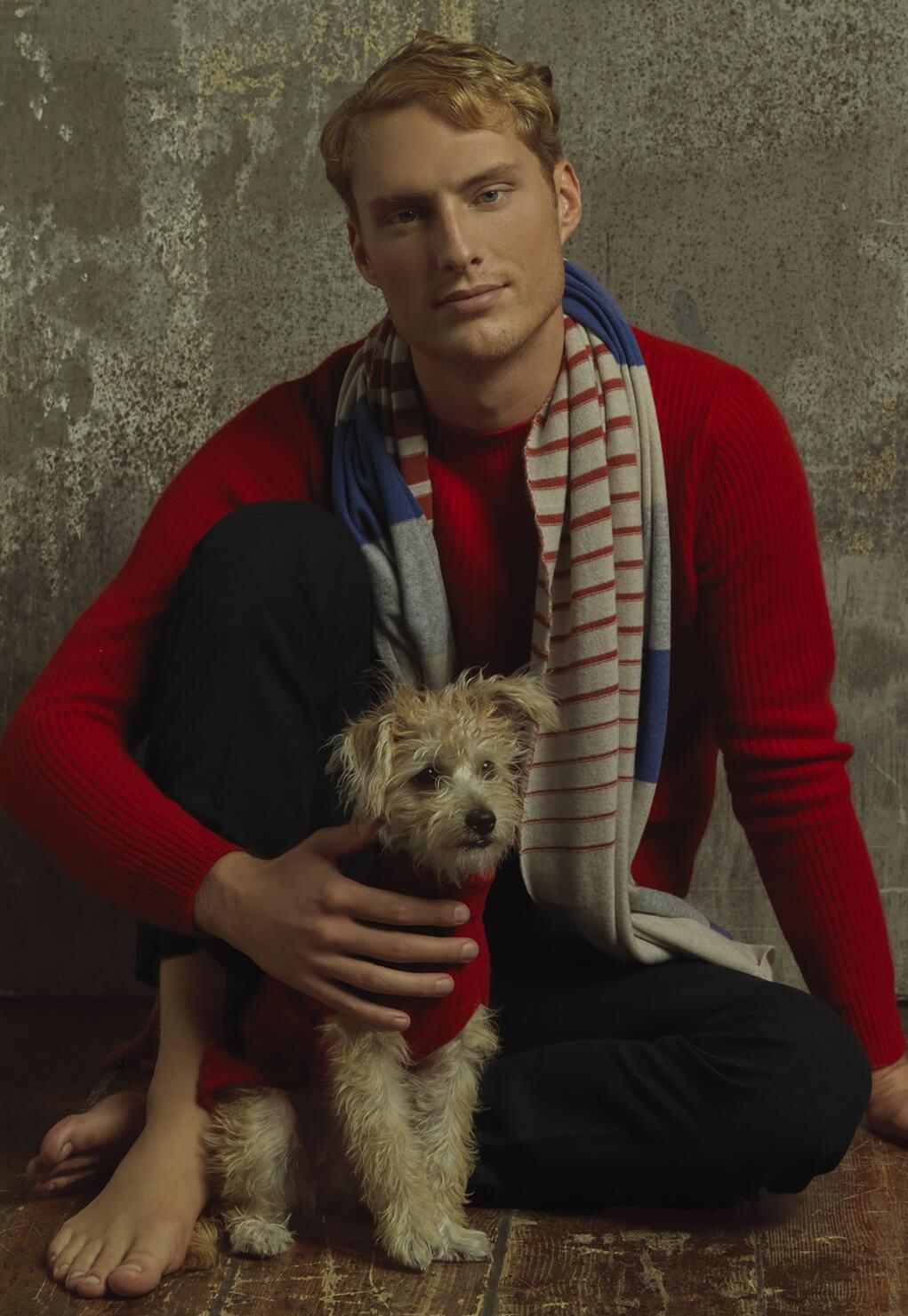 Duca di San Giusto cashmere Mirko Burin Fashion stylist 6