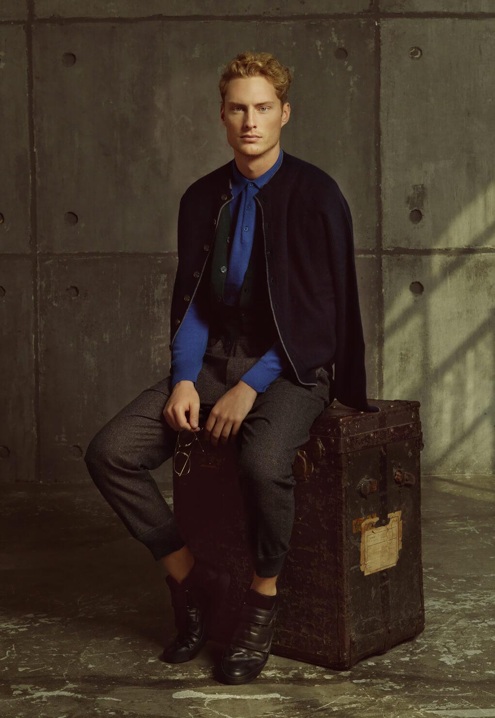 Duca di San Giusto cashmere Mirko Burin Fashion stylist 8