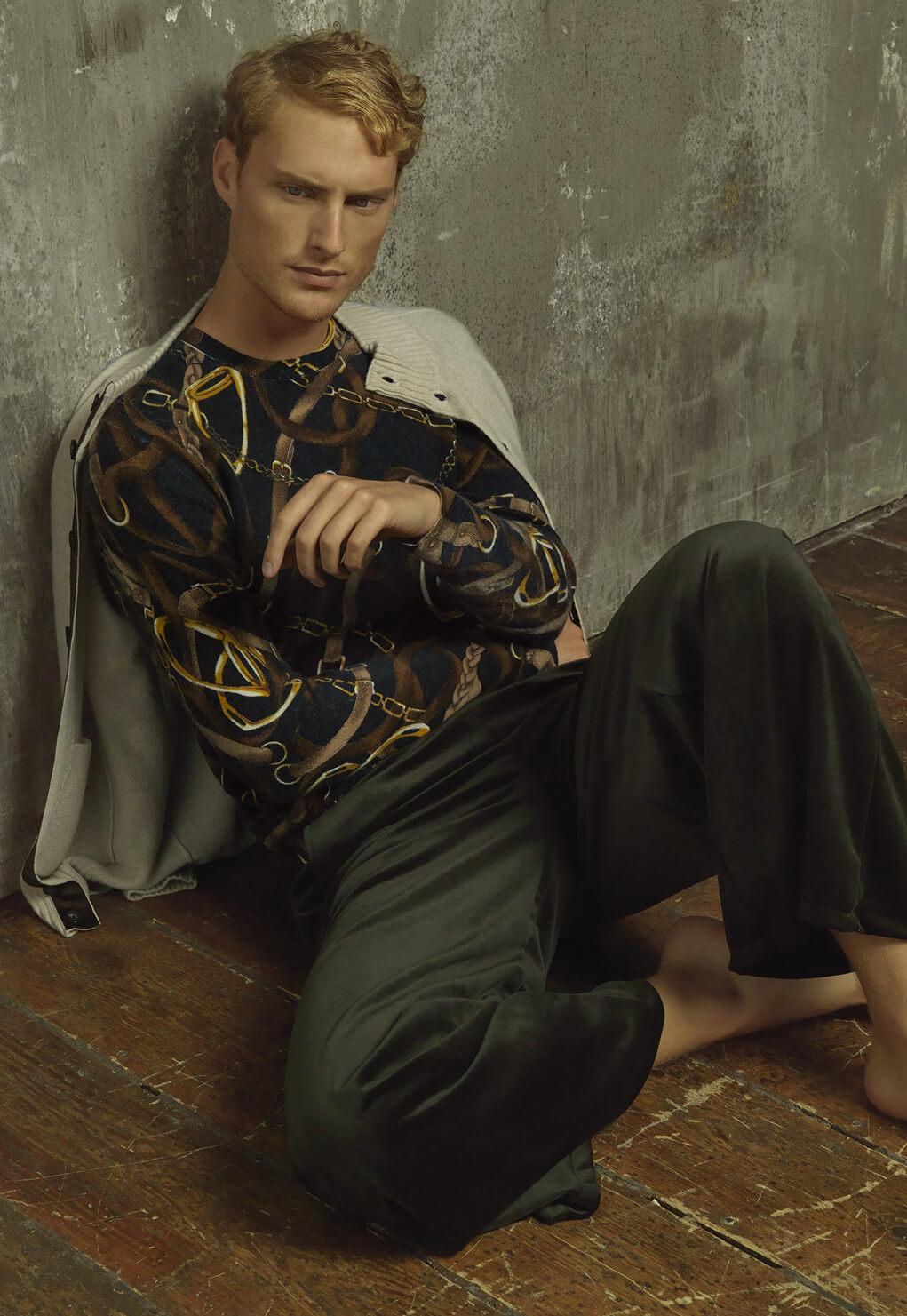 Then and Now Duca di San Giusto cashmere Mirko Burin Fashion stylist 14