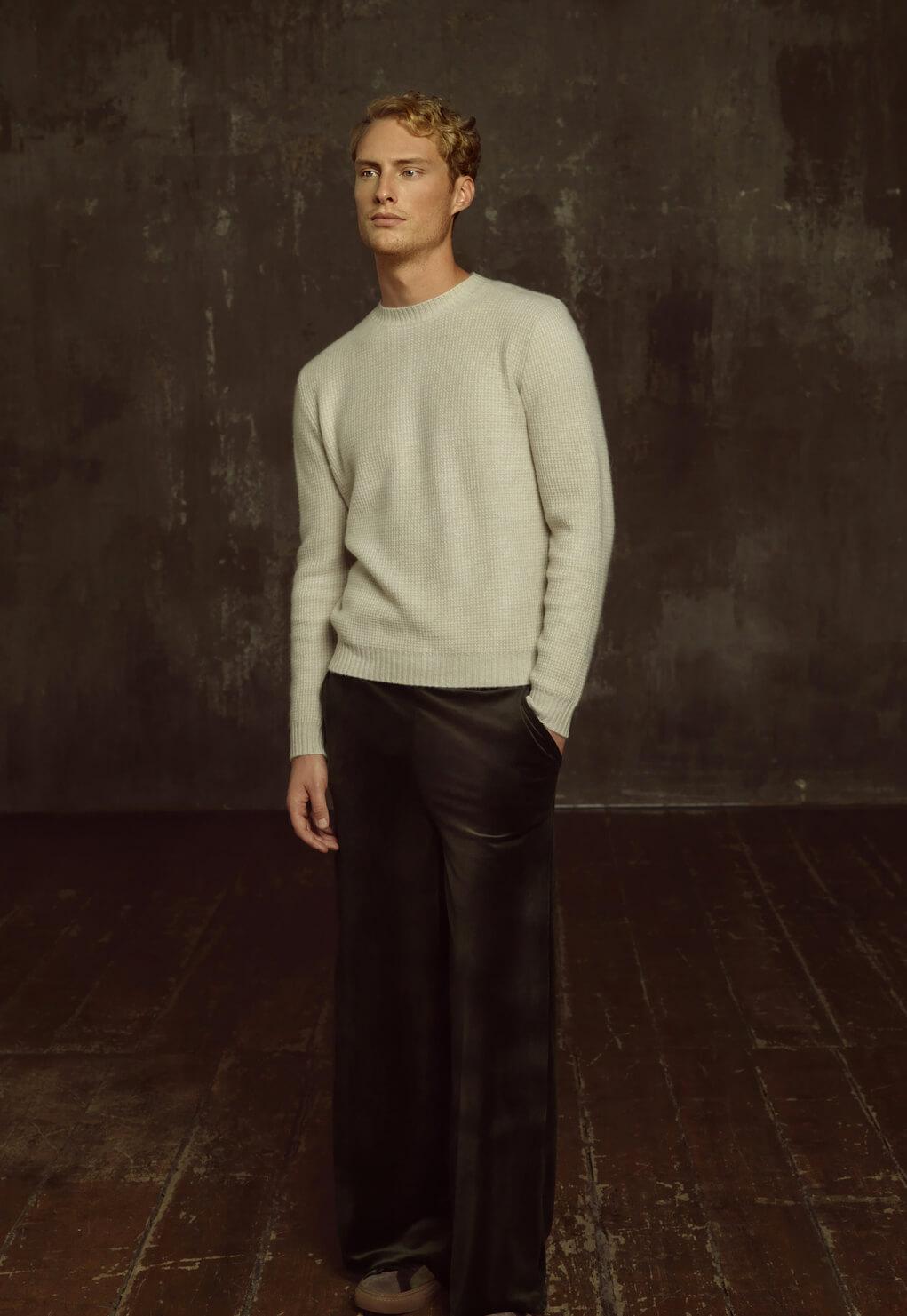 Then and Now Duca di San Giusto cashmere Mirko Burin Fashion stylist 22