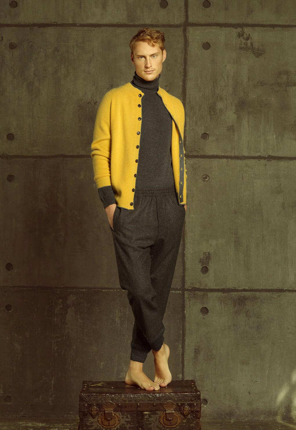 Then and Now Duca di San Giusto cashmere Mirko Burin Fashion stylist 27