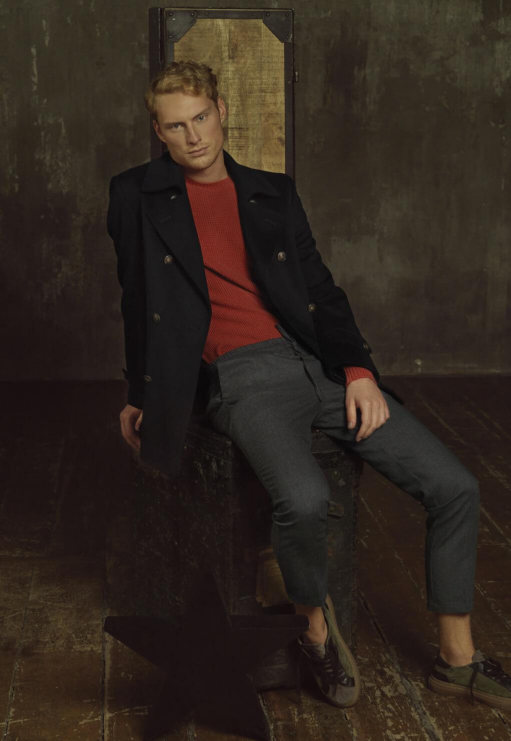 Then and Now Duca di San Giusto cashmere Mirko Burin Fashion stylist 32