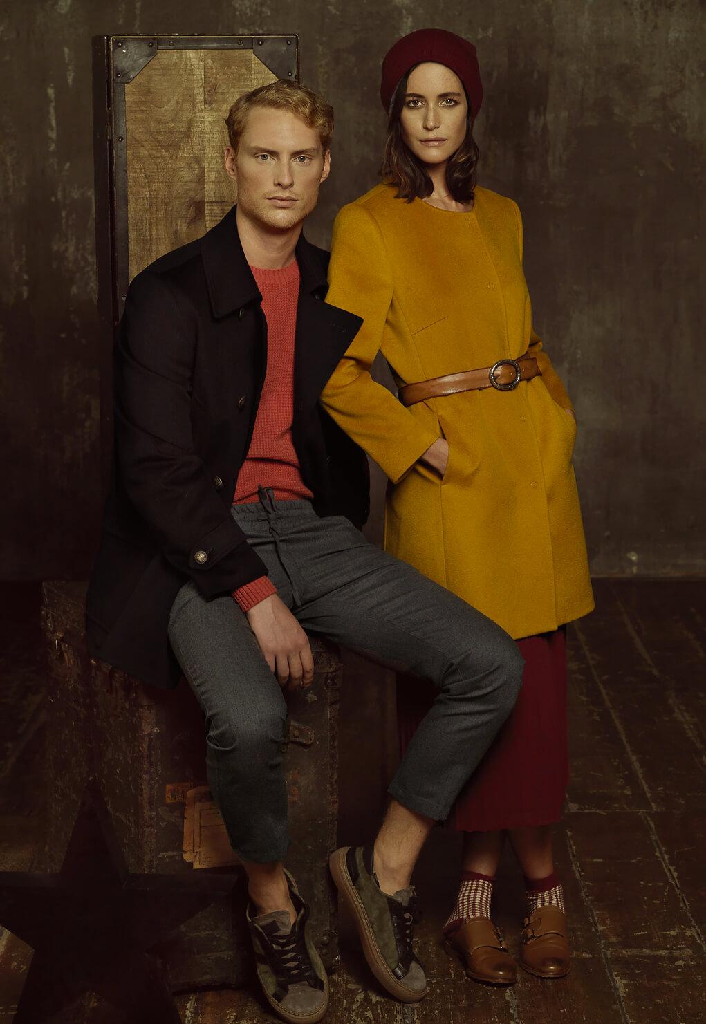Then and Now Duca di San Giusto cashmere Mirko Burin Fashion stylist 33