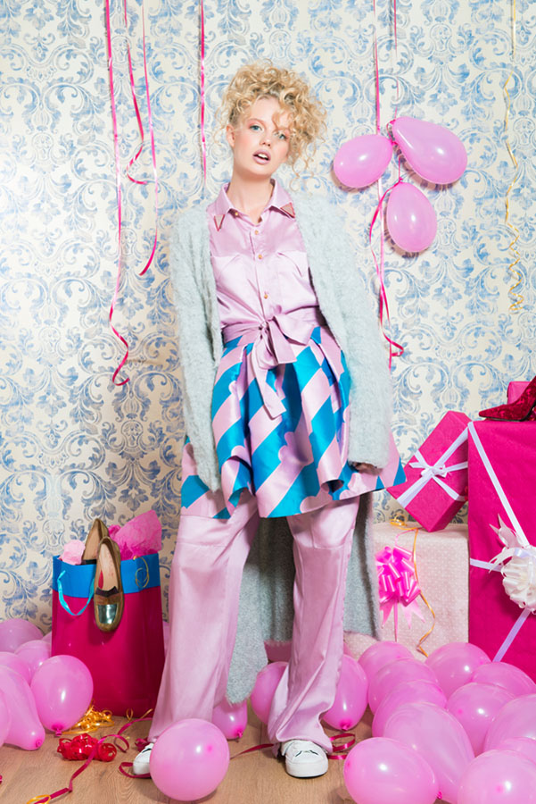 Switch Magazine Psycho Pink X-Mas Mirko Burin Stylist