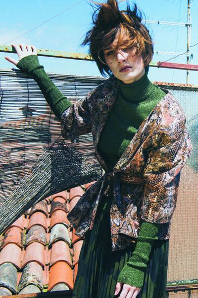Switch Magazine Rooftop Party Mirko Burin Stylist